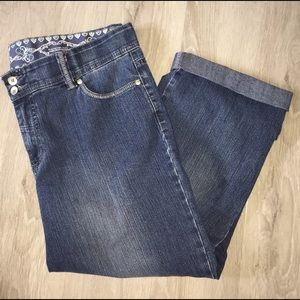 GREAT CONDITION!!!! Very Comfy Capri Jeans